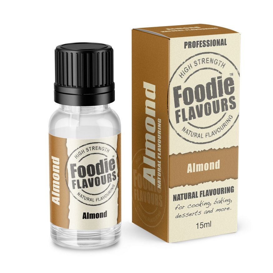 Almond Natural Flavouring Bottle & Box