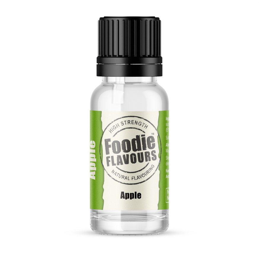 apple natural flavouring 15ml bottle