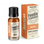 apricot natural flavouring bottle and box