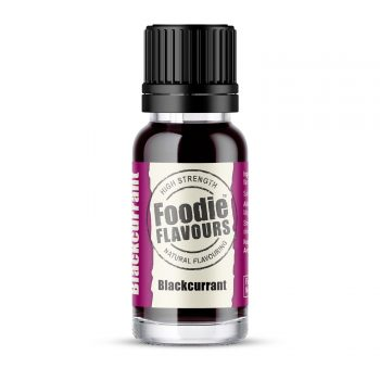 natural blackcurrant flavouring 15ml bottle