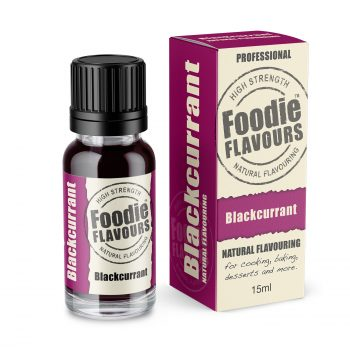 natural blackcurrant flavouring bottle & box