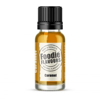caramel natural flavouring 15ml bottle