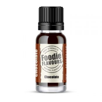 chocolate natural flavouring 15ml bottle