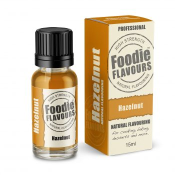 Hazelnut Natural Flavouring bottle and box