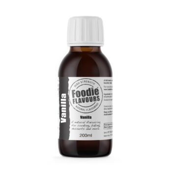 Vanilla Natural Flavouring 200ml - Foodie Flavours