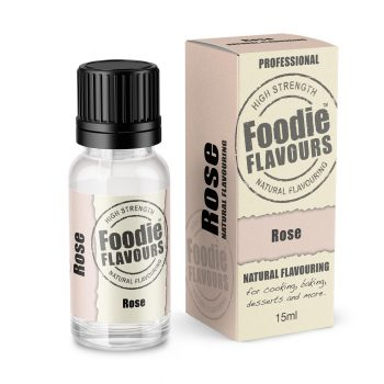 Rose Natural Flavouring bottle and box
