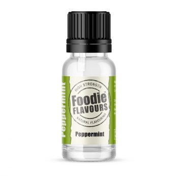 Peppermint Natural Flavouring 15ml Bottle