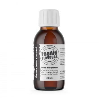 Creamy Buttery Caramel Natural Flavouring 200ml bottle