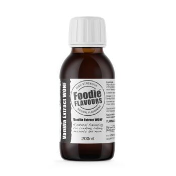 Vanilla Extract WONF 200ml - Foodie Flavours