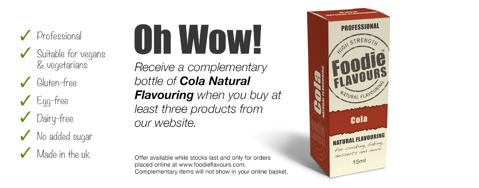 cola natural flavouring