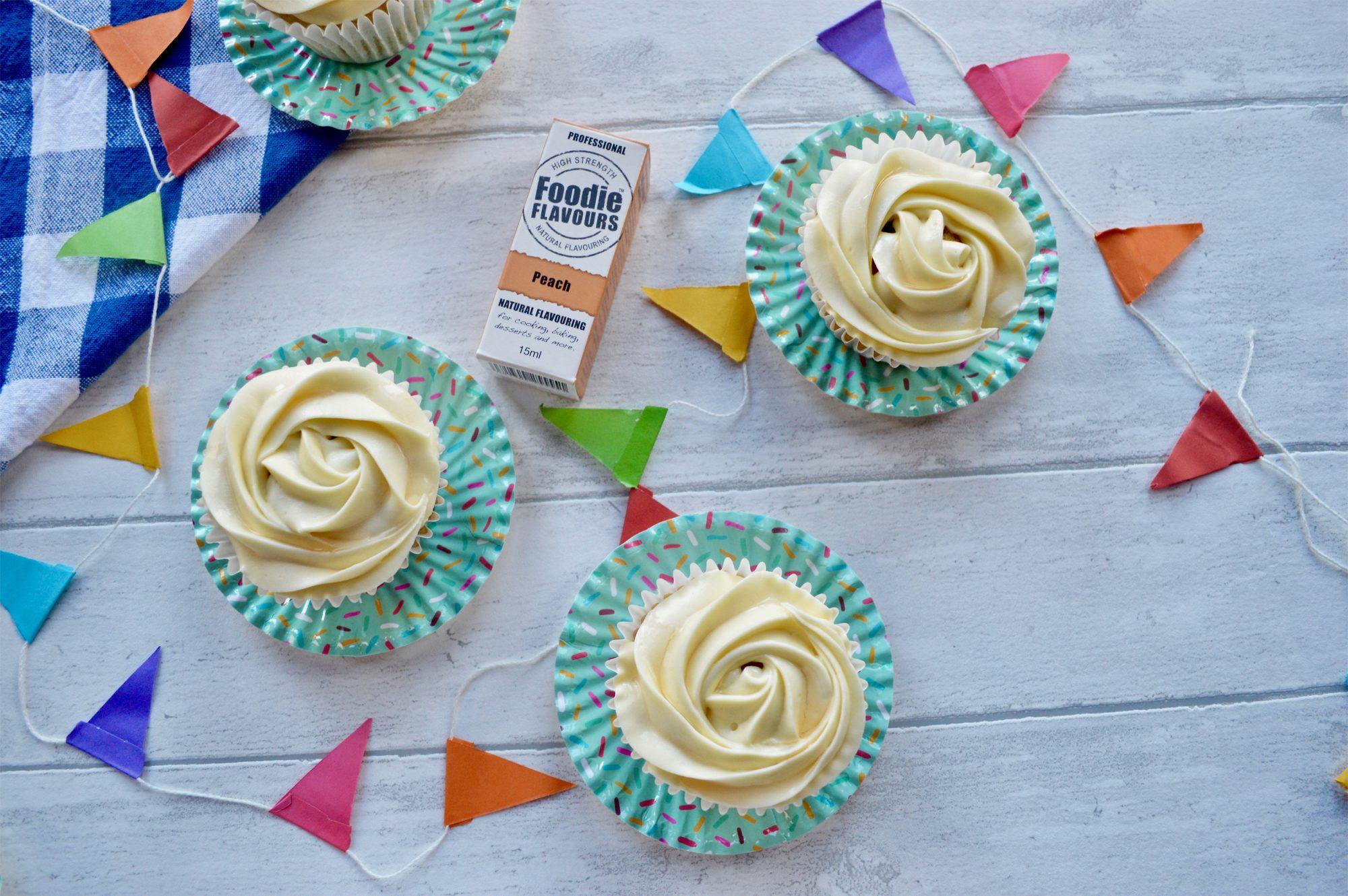 Peach Ice Tea Cupcakes | Foodie Flavours blog