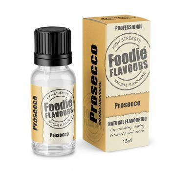 Prosecco Natural Flavouring bottle and box