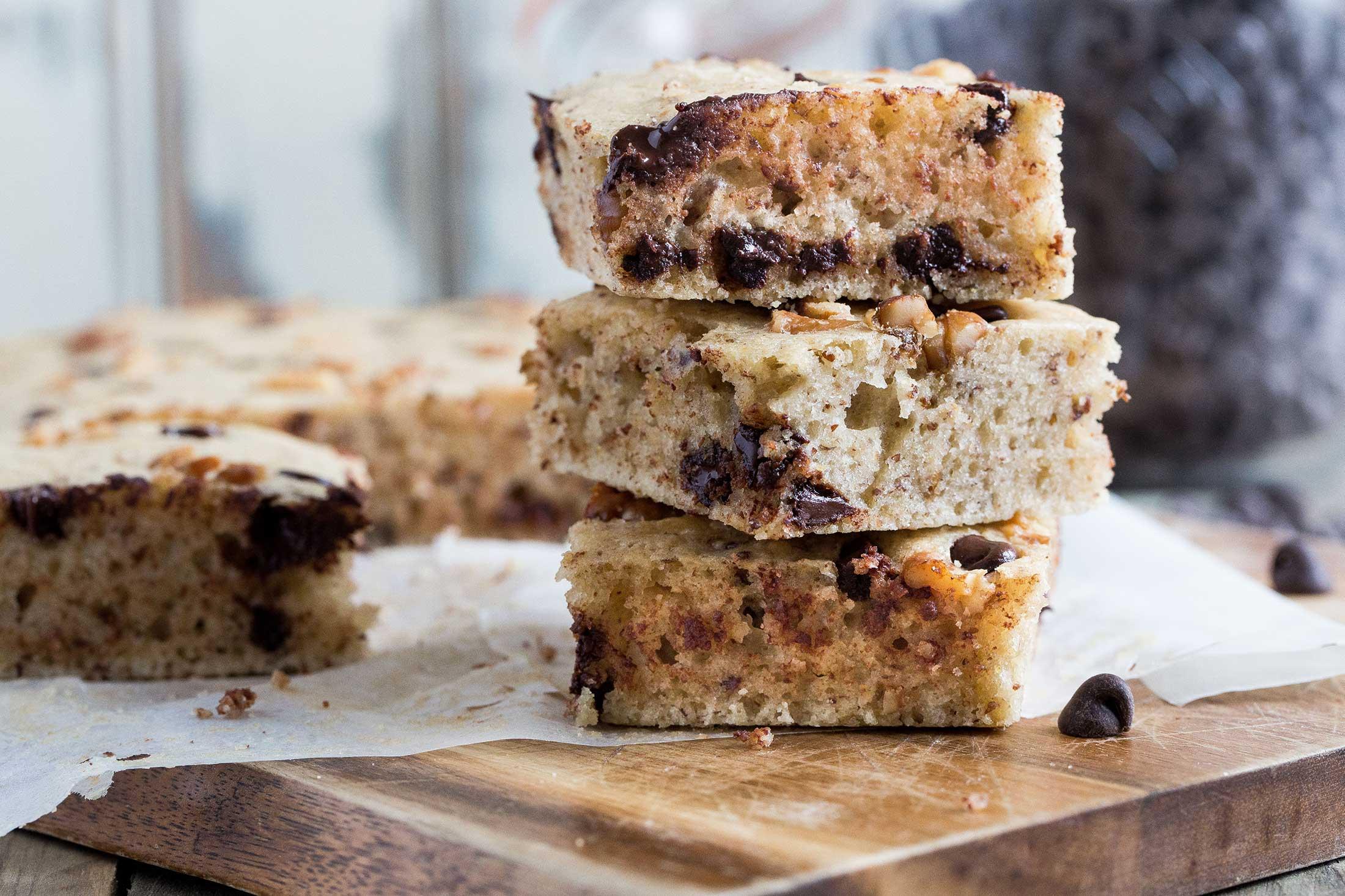 Cookies & Cream Vegan Blondies