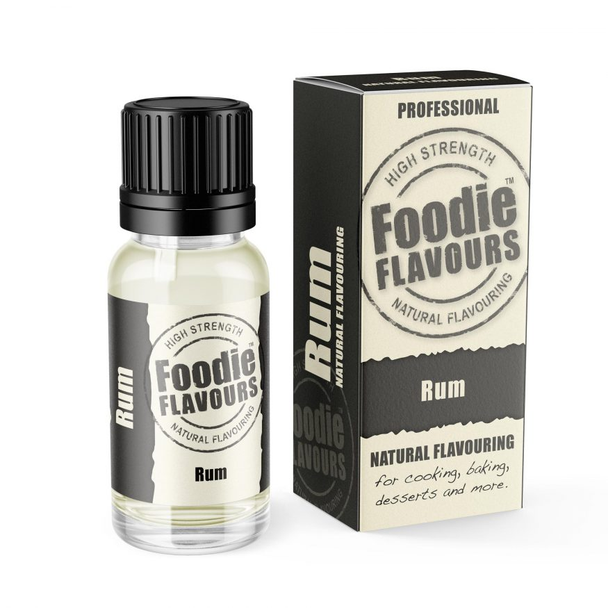 rum natural food flavouring