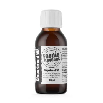 Gingerbread Natural Flavouring 200ml - Foodie Flavours