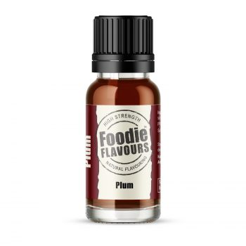 Plum Natural Flavouring 15ml bottle