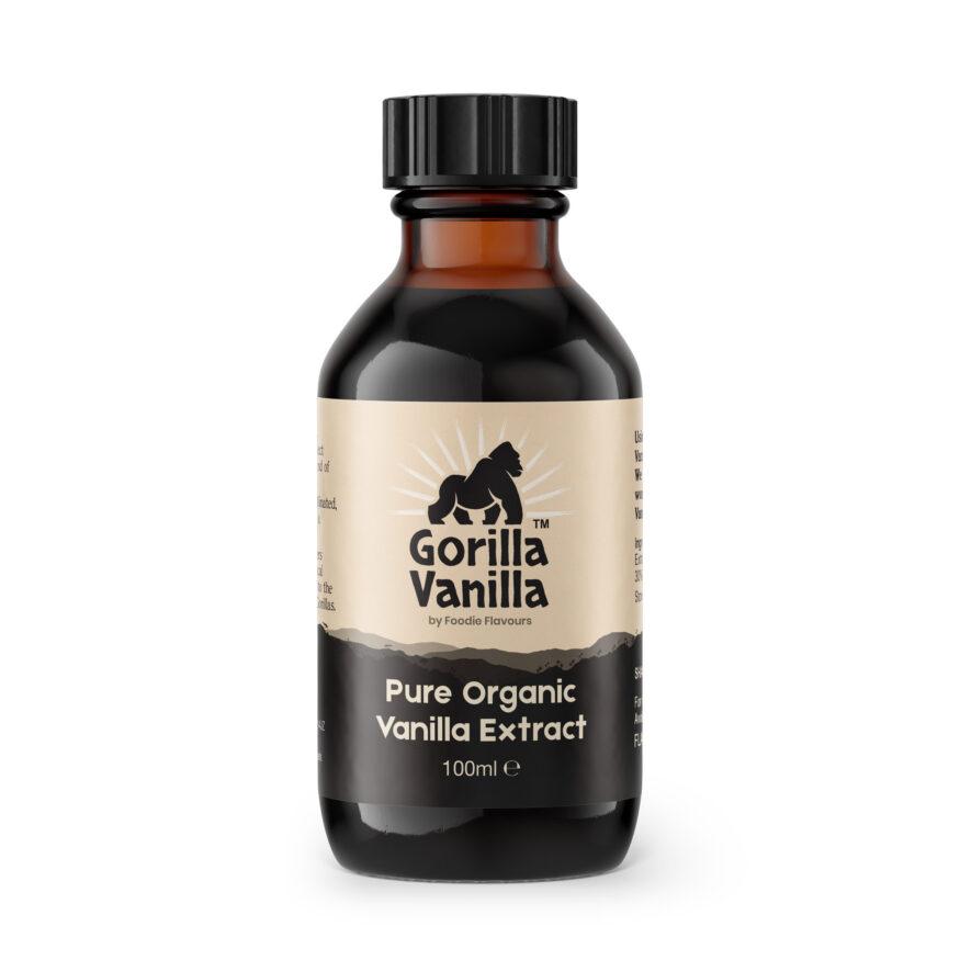 Gorilla Vanilla - Organic Vanilla Extract 100ml - Foodie Flavours