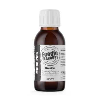 Mince Pies Natural Flavouring 200ml - Foodie Flavours
