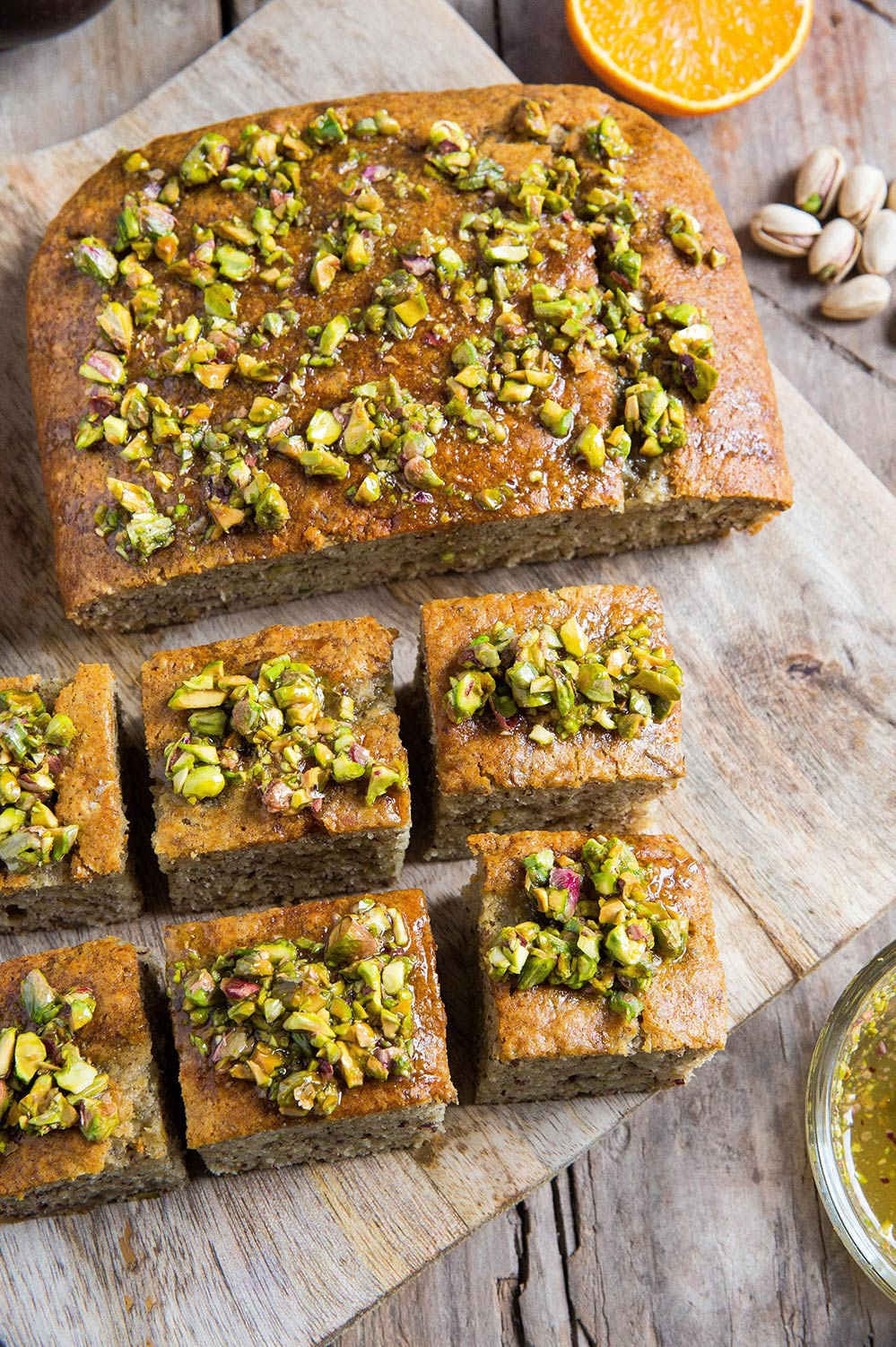 vegan pistachio cake recipe