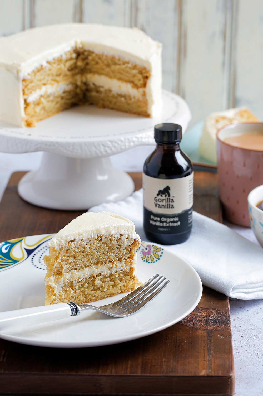 Vanilla Extract Cake Baking