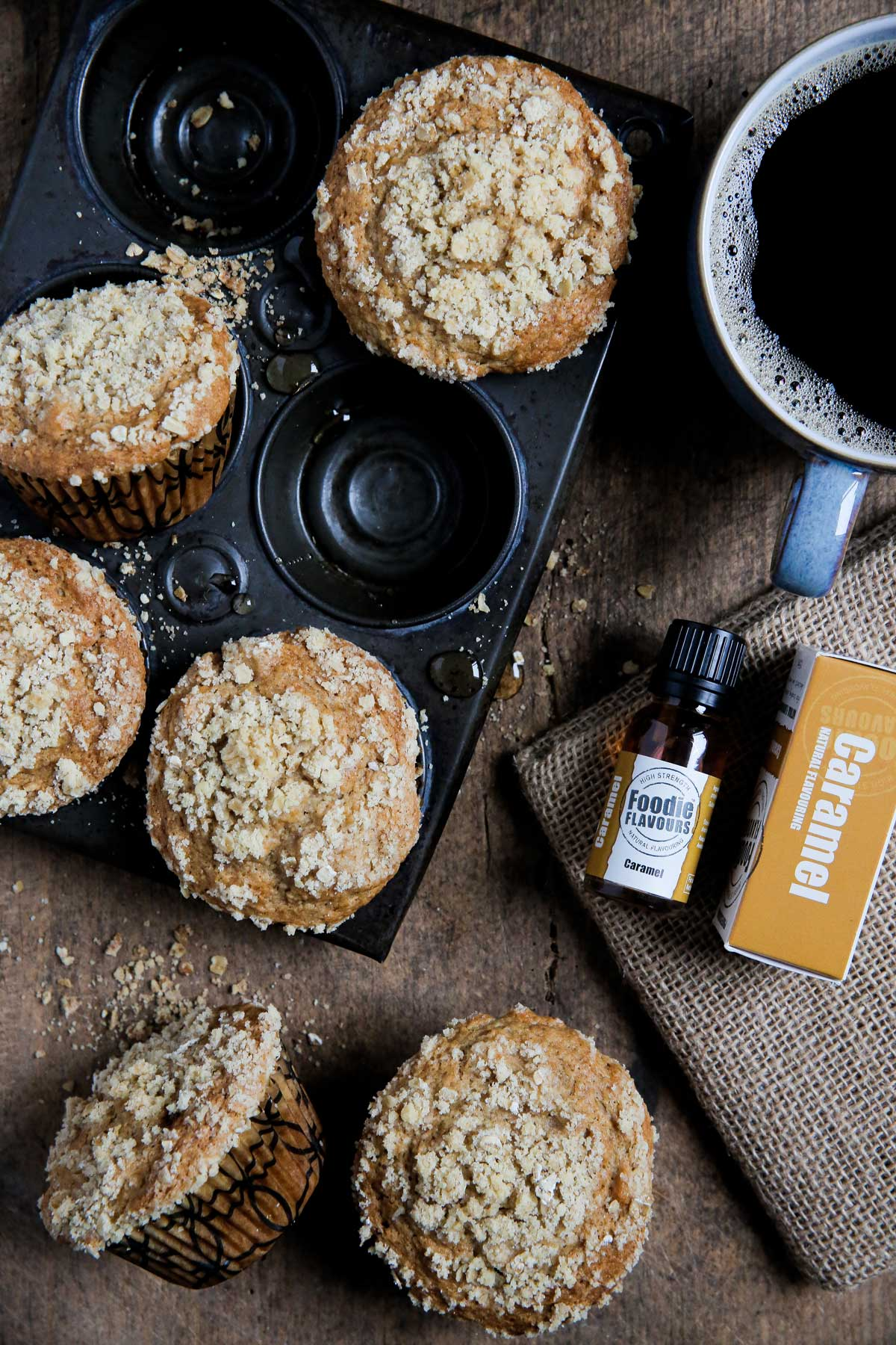 caramel and apple muffin recipe
