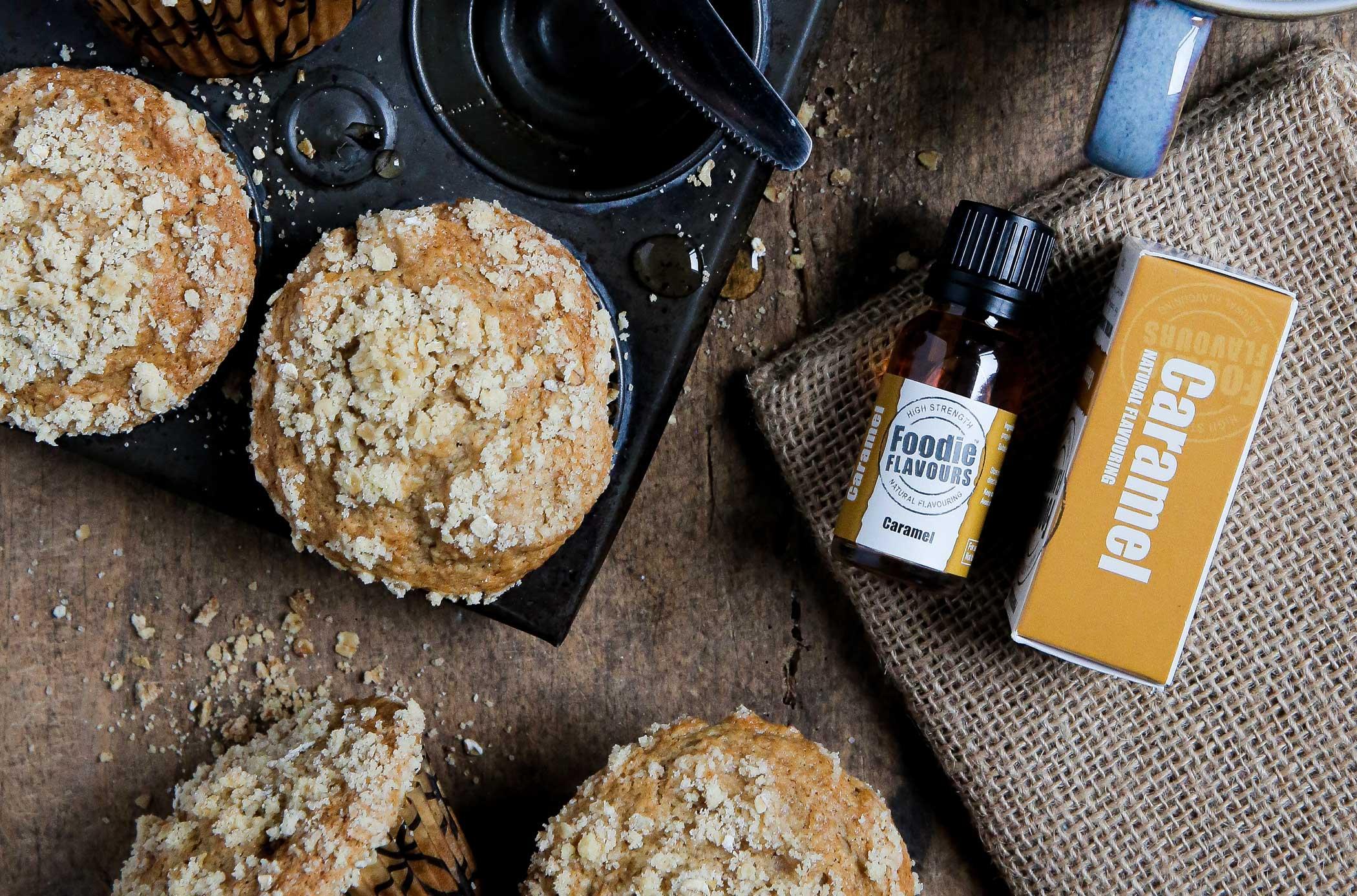 Caramel & Apple Muffins