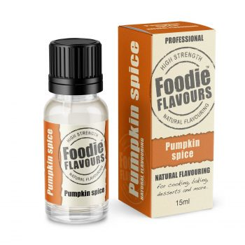 Foodie Flavours Pumpkin Spice Natural Flavouring