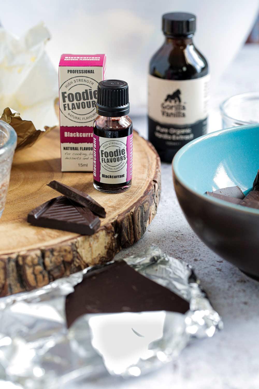 blackcurrant cheesecake brownies