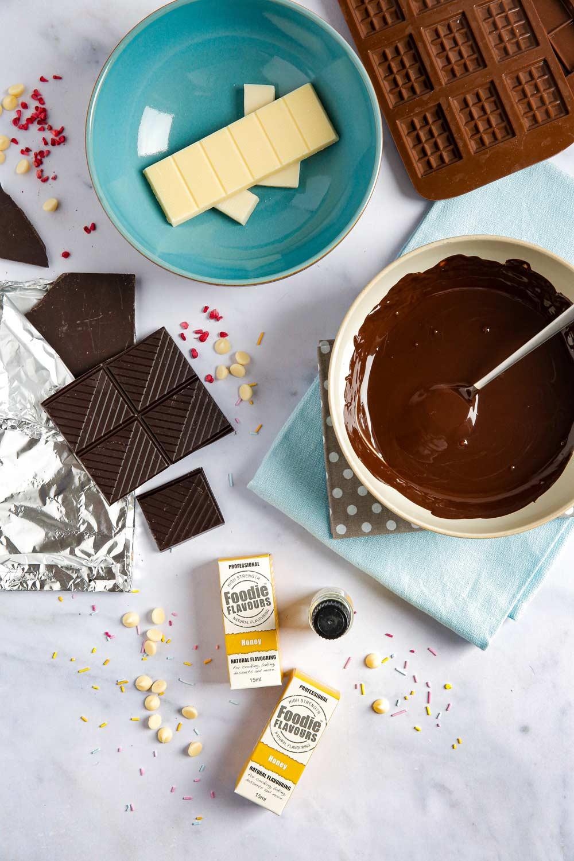 vegan honey flavoured chocolate