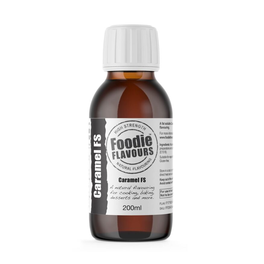 Caramel FS Natural Flavouring 200ml - Foodie Flavours