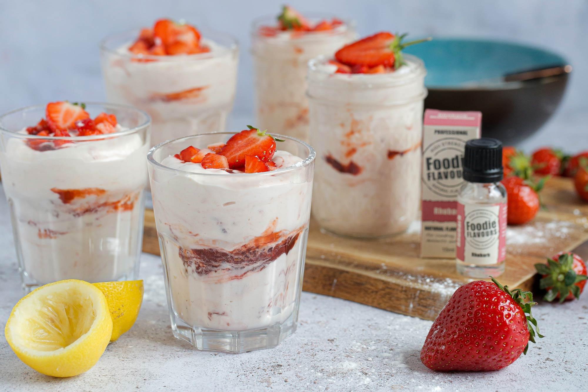 Vegan Rhubarb and Strawberry Fool Recipe