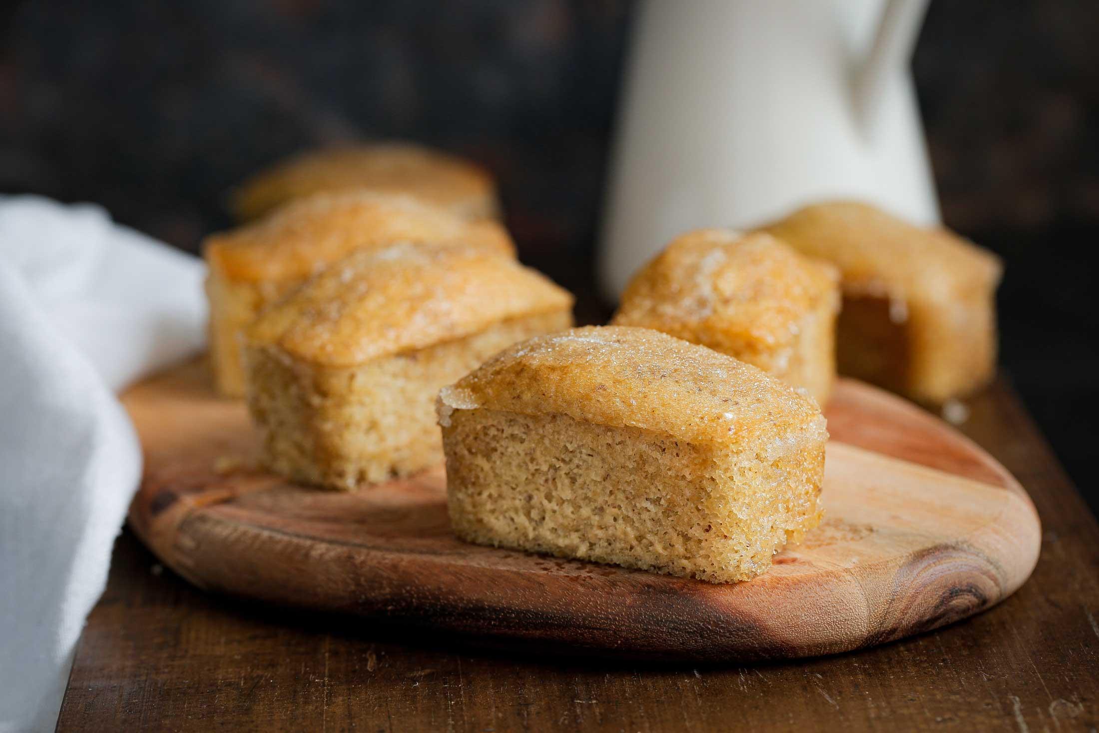 Lemon Drizzle Mini Loaf Cakes